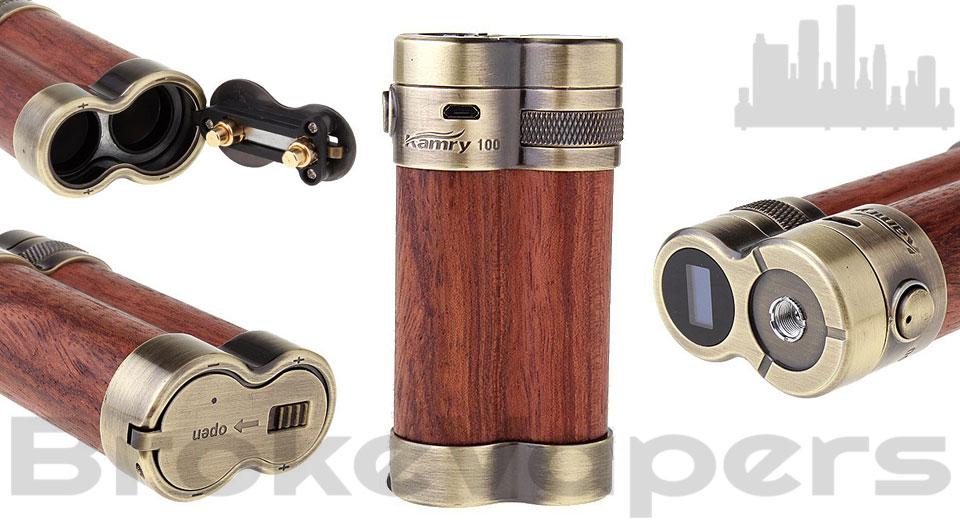 Kamry 100 Watt Box Mod - $77.39 | Broke Vapers