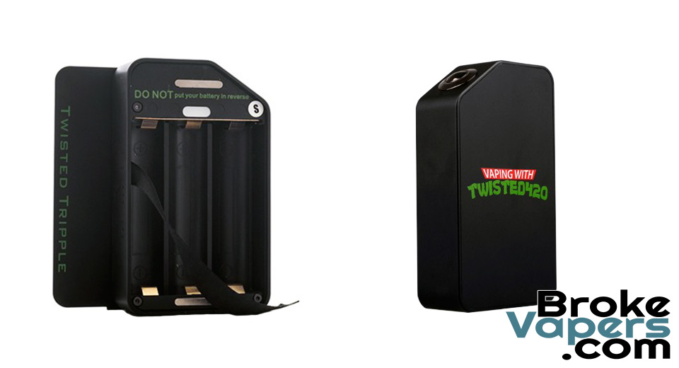 Authentic Wotofo Twisted Tripple Mechanical Box Mod