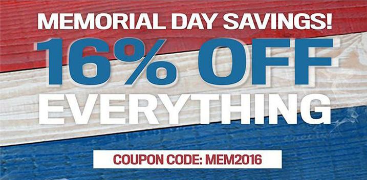 MFS 16% off everything