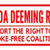 Fight For Your Right To Be Smoke Free!