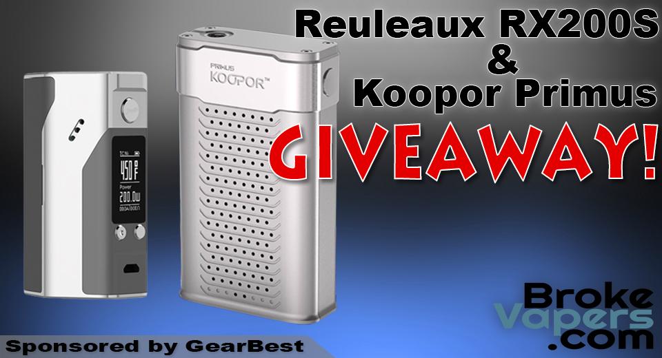 Reuleaux RX200S & Koopor Primus Giveaway